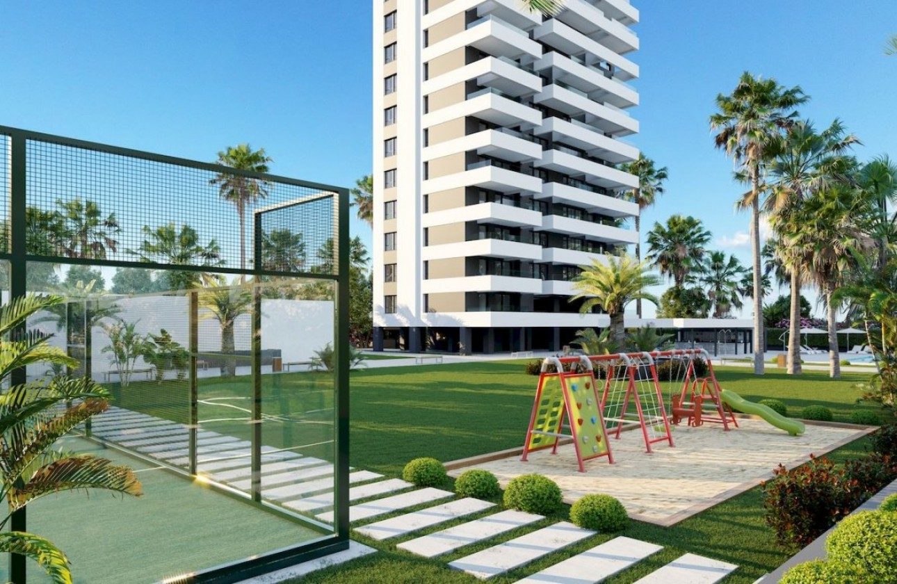 Apartment - New Builds - Calpe - Playa arenal-bol