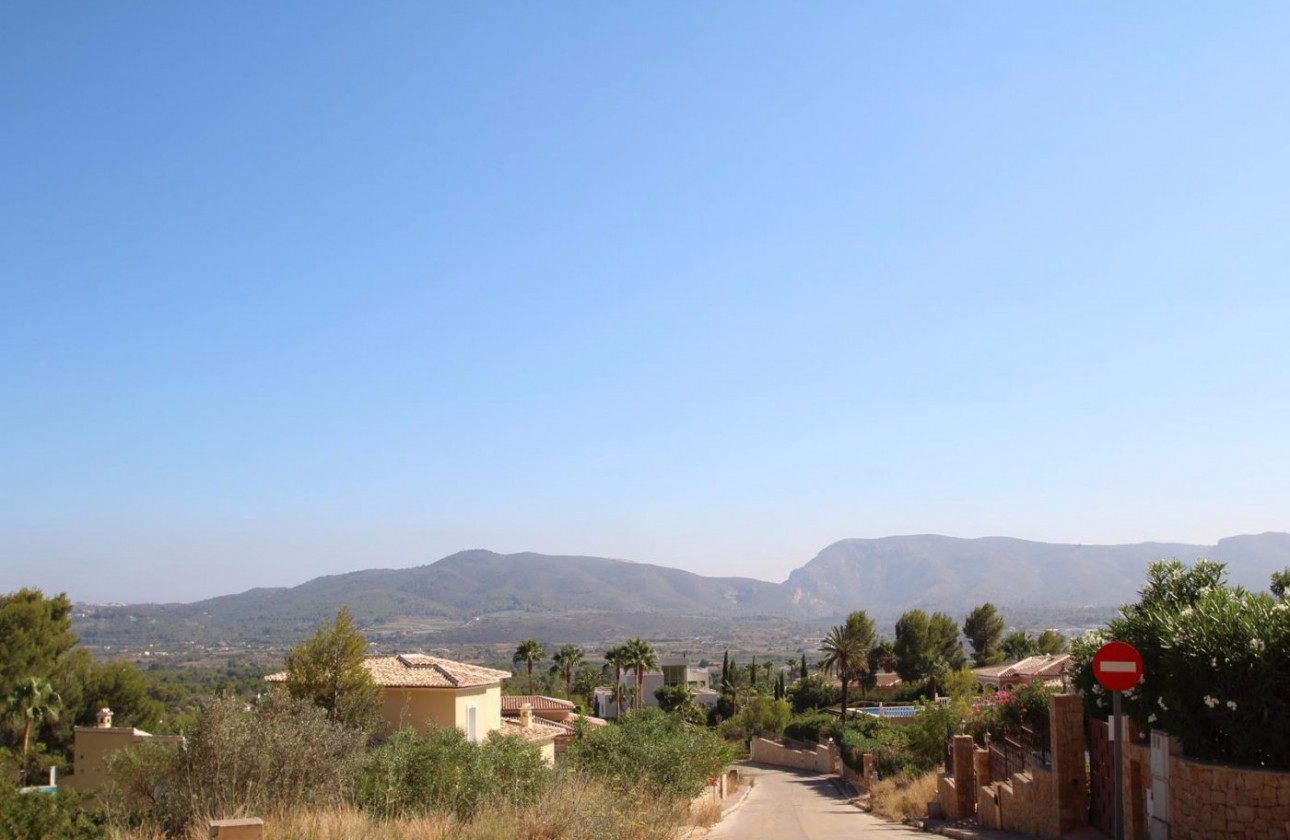 Plot - Re-sales - Javea - Montgo