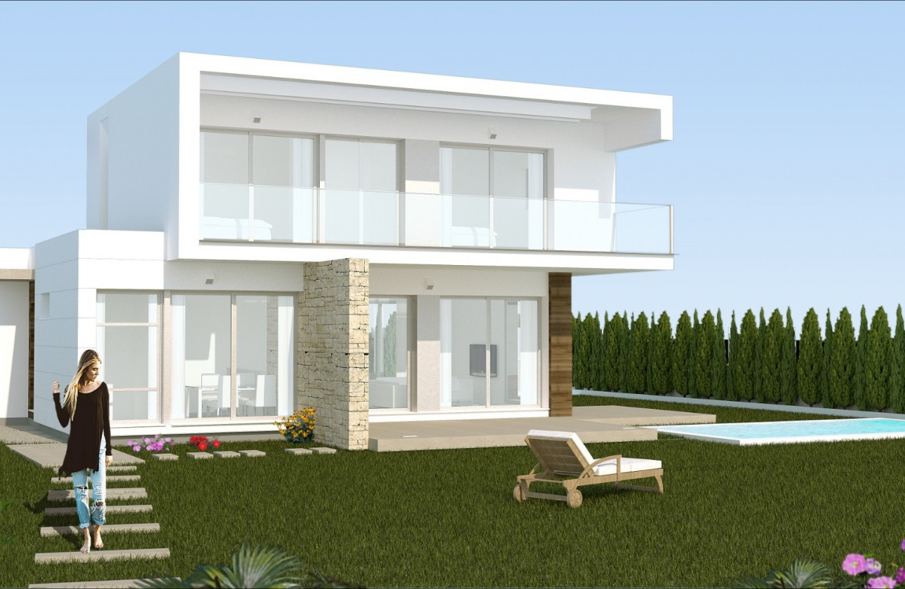 Villa - New Builds - Orihuela - Orihuela Costa