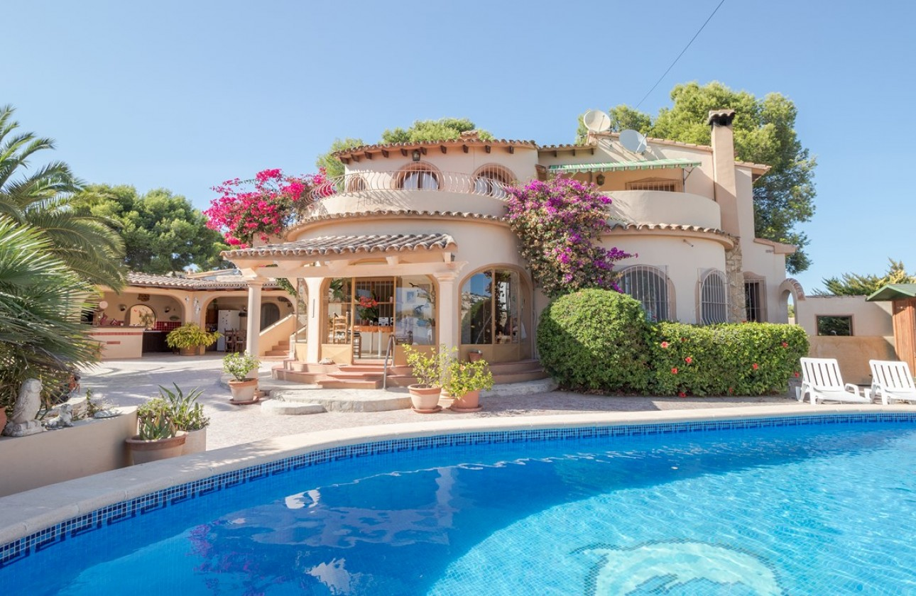 Villa - Re-sales - Moraira - Sabatera